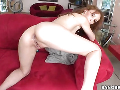 Skinny MILF got big black penis inside the cunt