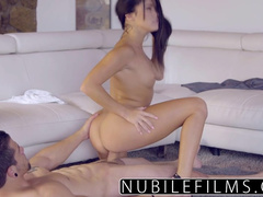Dude wide spreads legs and gets his dick excitingly sucked off